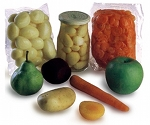 Pasteurized fruit vegetable processing packaging
